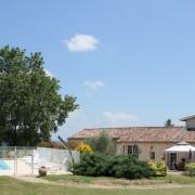 La Bastide et sa piscine