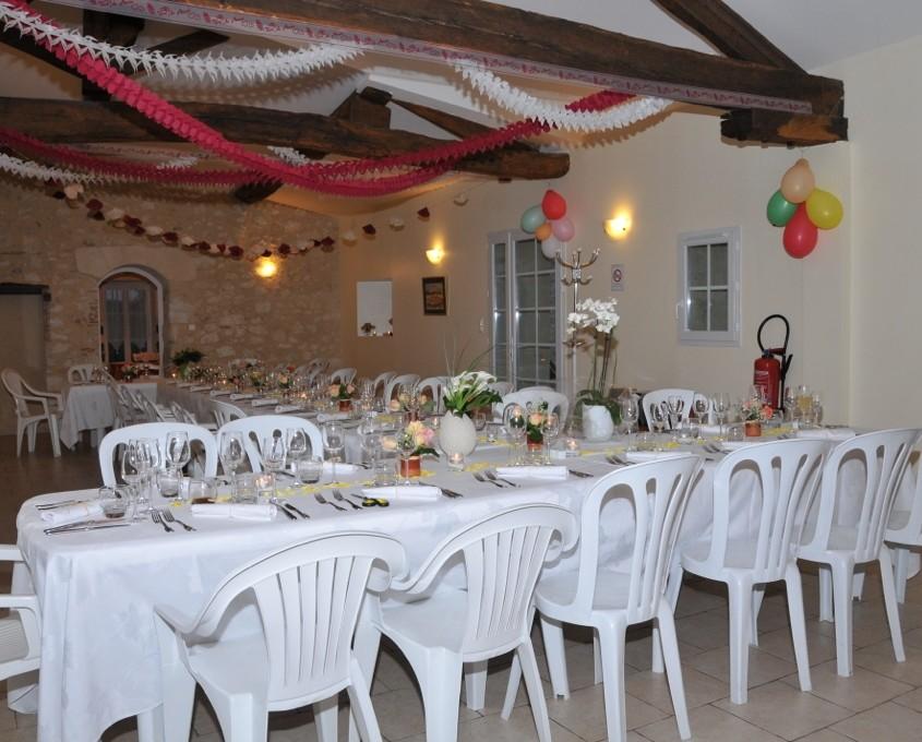 réception mariage Le Vircoulon