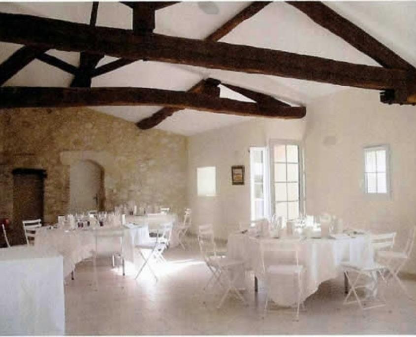 mariage dordogne Le Vircoulon salle de reception 2