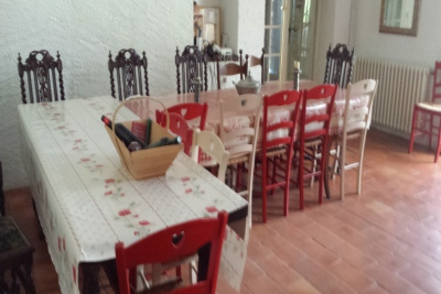 Le Vircoulon salle manger longère